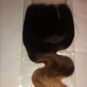 Ombré Honey Blonde Body Wave Bundle Set